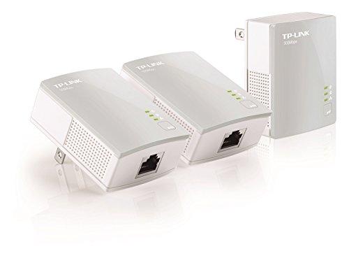 TP-Link AV500 Nano Powerline Adapter 3-Pack Kit, Up to 500Mbps (TL-PA4010 - Line Network Adapter