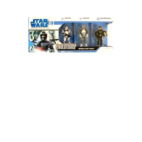 Star Wars: Legacy Collection Evolutions Imperial Pilot Legacy (Ep.II Clone Pilot, Ep.III Clone Pilot & Biggs - Collection Bigg