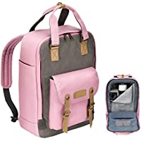 TARION M-03 Canvas Camera Backpack for DSLR Mirrorless...