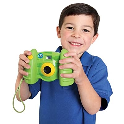 Discovery Kids Digital Camera with Video - Green: Toys & Games