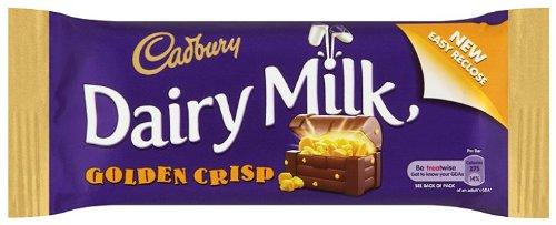 Cadbury Dairy Milk Golden Crisp 54g