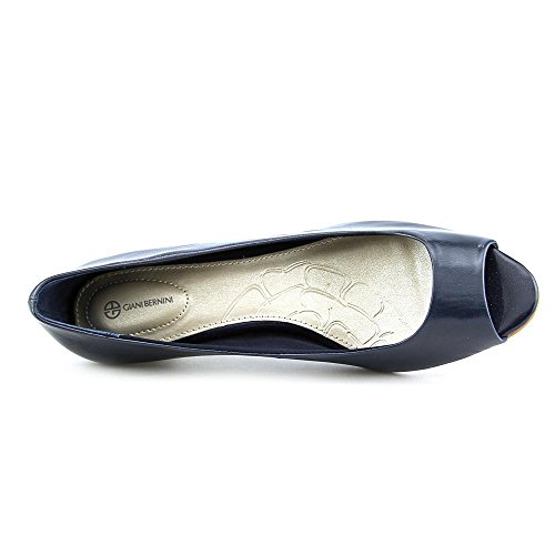 Giani Navy Bernini Classic Toe Pumps Giani Womens Bernini Peep Soria HHvwPrq