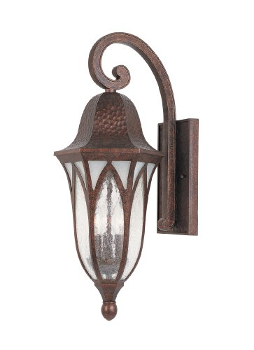 Designers Fountain 20621-BAC Berkshire 9 Inch Wall Lantern by Designers Fountain