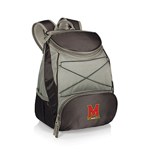 PICNIC TIME NCAA Maryland Terps PTX Insulated Backpack Cooler, Black