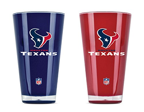 NFL Houston Texans 20oz Insulated Acrylic Tumbler Set of 2