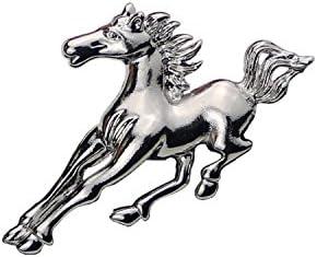 【ノーブランド 品】ファッション 動物 馬 ブローチ ピン バッジ 結婚式 花嫁 アールデコ ファッション 馬の形