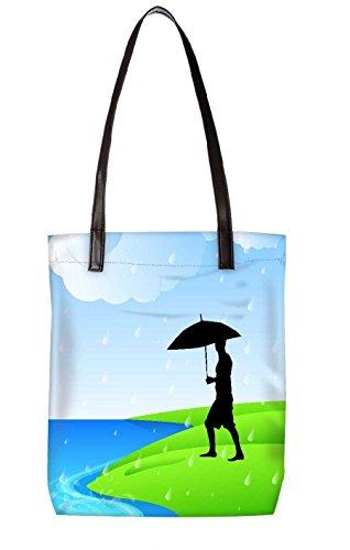 Snoogg Strandtasche, mehrfarbig (mehrfarbig) - LTR-BL-3792-ToteBag