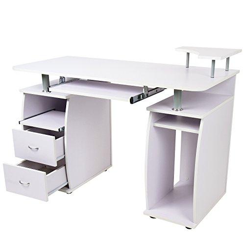 bureau avec tablette finest bureau ferme meuble bureau. Black Bedroom Furniture Sets. Home Design Ideas