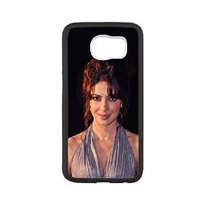 Durable Hard cover Customized TPU case Celebrities Priyanka Chopra Samsung Galaxy S6 Cell Phone Case White