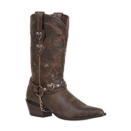 Durango Women's Crush Brown Heartbreaker Boot-RD4155 (M9) ()