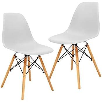 Set de 4 sillas replica eames para comedor o estudio - Silla eames amazon ...