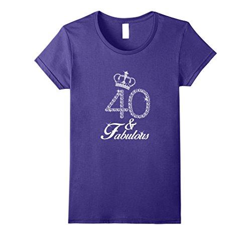 40th Birthday Womens T-shirt - 8