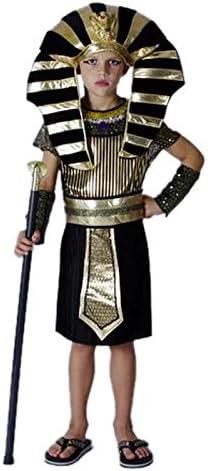 Disfraz de faraón Egipto para niños Cosplay, Carnaval y Halloween ...