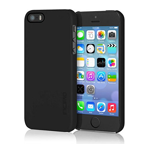 Incipio iPhone 5s Ultra thin Case, [Feather] Snap-On Shockproof Slim Case fits iPhone 5, iPhone 5s, and iPhone SE - Retail Packaging - (Incipio Feather Slim Form)