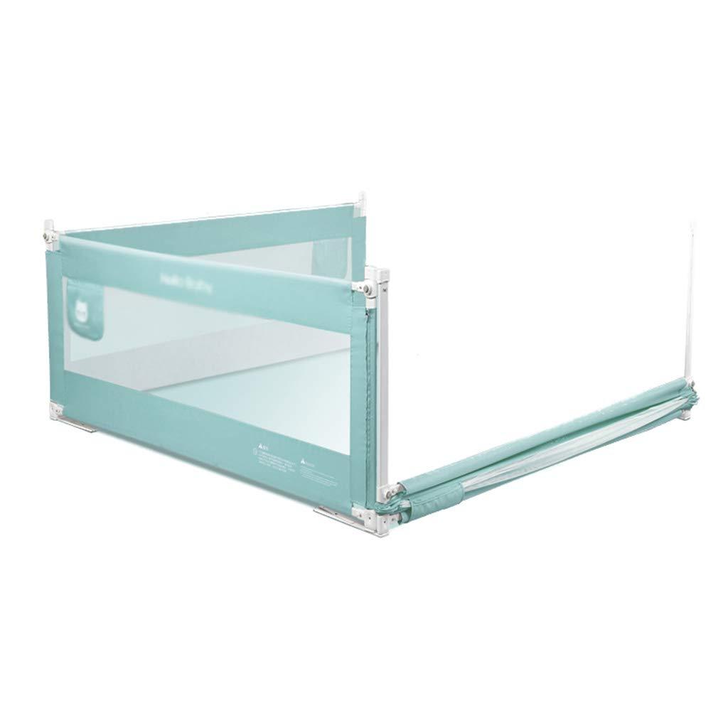 Grünikaler Aufzug-Bett-Zaun, Baby-Anti-Fall-großes Bett-schützender Zaun, der Sichtbarmachung geht Zu Bett Schallwand, 1.5-2M B07MG6YMG6 Firstzelte Schön
