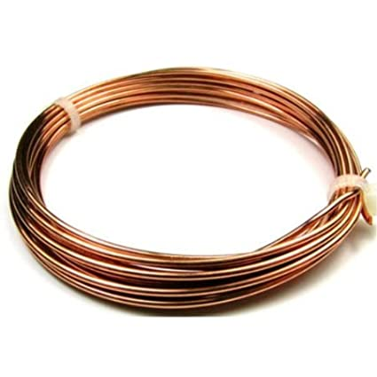 Unplated Craft And Jewellery Making Copper Wire 2.5mm x 1m