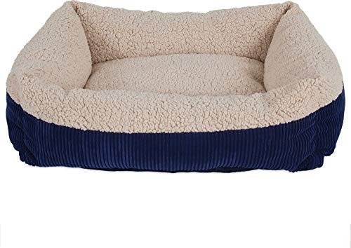 Aspen Pet Self-Warming Corduroy Pet Bed Several Shapes Assorted ()