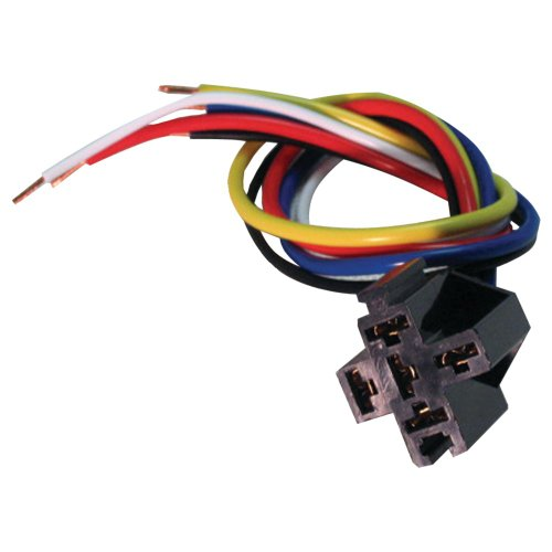 American Terminal BRS-3000 5-Wire Relay Socket With 12-Inch Leads