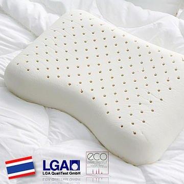 HONORS そら豆型枕 天然ラテックス100% 高反発枕