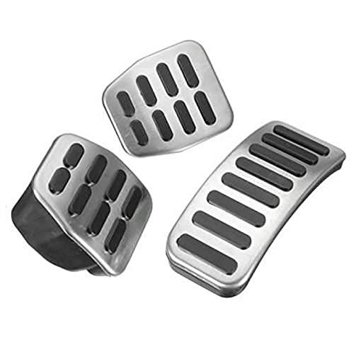 Steel Pedal Rubber Set for Manual Transmission for VW Golf Jetta MK4 GTI GLI 1.8T ()