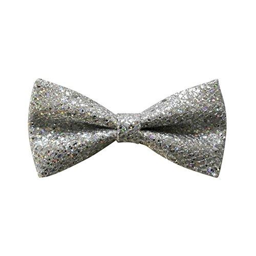 Cloud Rack Bow Tie Shiny - Silver Tie Shiny