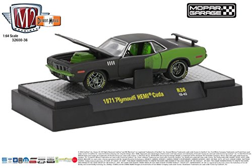 - M2 Machines 1:64 Detroit Muscle Release 36 1971 Plymouth HEMI Cuda