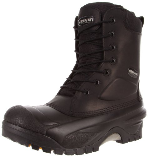 Baffin Men's Workhorse STP Work Boot,Black,9 M US (Chemical Baffin Boots)