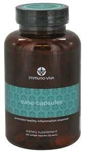 Immuno-Viva - Ease Capsules - 120 Softgel Capsules - CLEARANCE PRICED