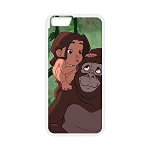 Tarzan iPhone 6 4.7 Inch Cell Phone Case White xlb-085425