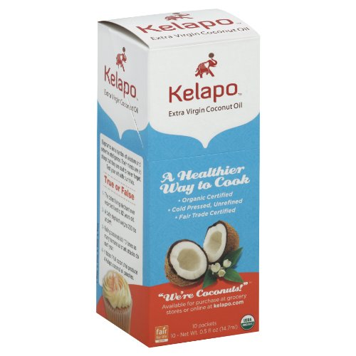 Kelapo Virgin Coconut 10 Count Pouches