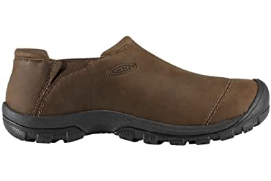KEEN Men's Dawson Slip On Shoe,Cascade Brown,8.5 M US
