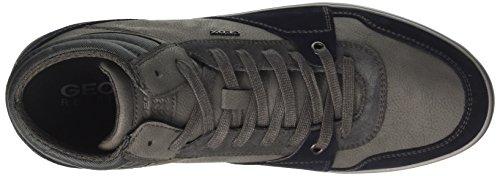 Anthracite Geox Hi Top Men's Cf49a U J Black Navy Grey Box Sneakers wxvRxrOq