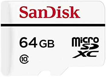 SanDisk High Endurance 64GB Class 10 microSDXC Card with Adapter