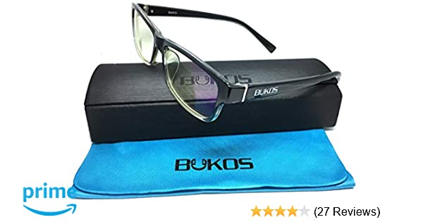 50bbf9458f Blue Light Blocking Glasses by Bukos - FDA Approved - Men