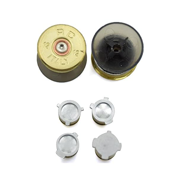 Bullet Buttons for Xbox One Controller, COCOTOP Raplacement Parts Bullet Thumbsticks and A B X Y Buttons Set Mod Kits… 3