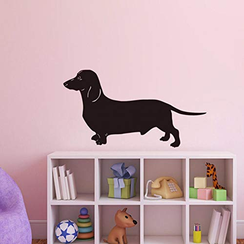 (Pbldb 59X31Cm Dachshund Dog Wall Stickers Most Popular Wallpaper Living Room Vinyl Removable Animal Home)
