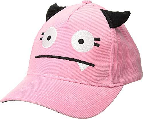 San Diego Hat Company Kids Girl's Single Tooth Monster Ball Cap (Little Kids/Big Kids) Pink 5-7 Years