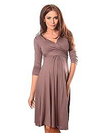 Purpless Maternity Gorgeous Vneck Pregnancy Dress 4400