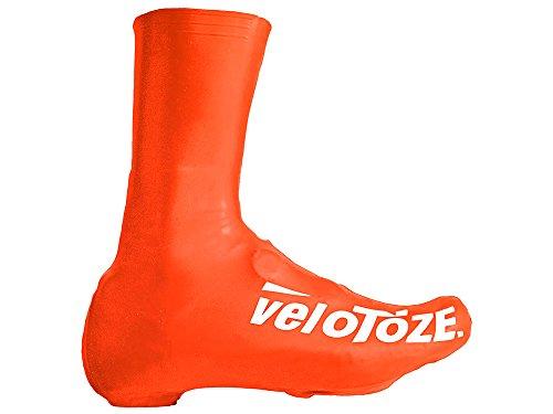 VELOTOZE - Cubrezapatillas Altos Latex Viz/Orange