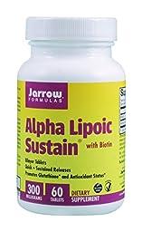 Alpha Lipoic Sustain 300 mg Jarrow Formulas 60 Tabs