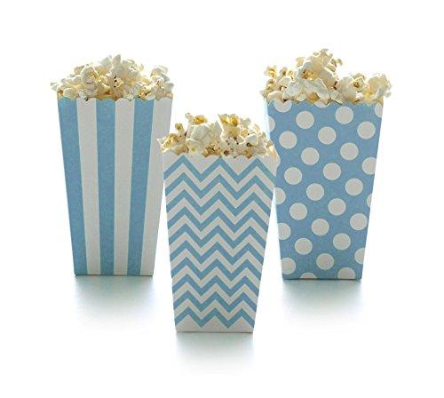 baby blue popcorn box - 4