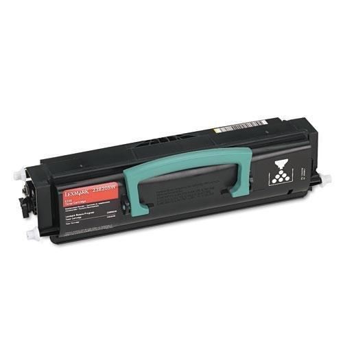 - LEX23820SW - Lexmark Black Toner Cartridge