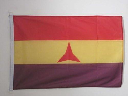 AZ FLAG Bandera ESPAÑA Republicana BRIGADAS INTERNACIONALES ...