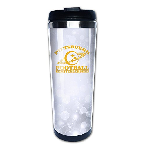 LINNA Pittsburgh Sport Football Team Coffe Mug Water Thermal Cup (Romantic Football Mugs compare prices)