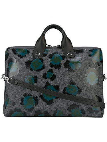 kenzo-mens-f755sl402b4199-grey-leather-briefcase