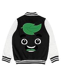 epoyseretrtgty Autumn Baby Little Kids Cotton Guava Juice Printing Baseball Jacket Sweatershirt