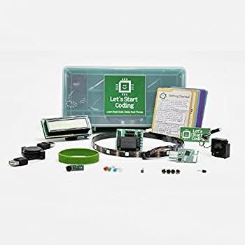 Ultimate Kit 2.0 from Let's Start Coding : Advanced Coding and Circuit Kit for Kids Aged 12-15
