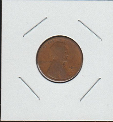 1915 Lincoln Wheat (1909-1958) Penny Good