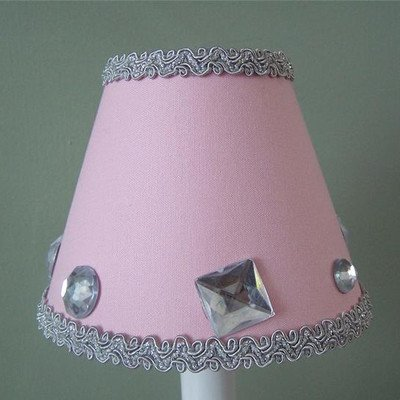 Silly Bear Lighting Material Girl Chandelier Shade, Pink