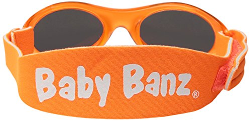 KidzBanz - Lunettes de soleil - Bébé (garçon) 0 à 24 mois Orange
